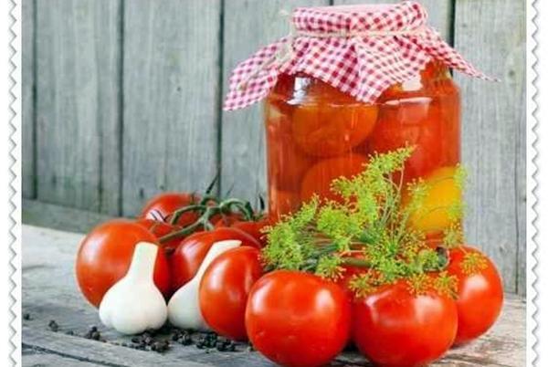 помидоры по болгарски с чесноком