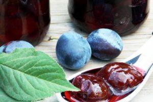 10 рецептов приготовления варенья из чернослива на зиму с косточками и без