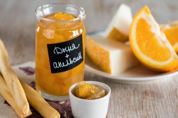дыня с апельсином