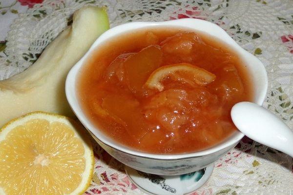 Варенье из дыни с грейпфрутом