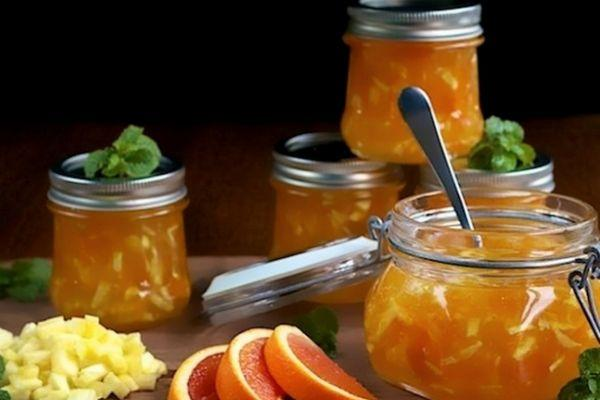 Варенье с апельсинами