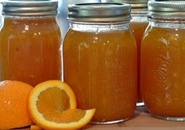 варенье с персиков и апельсина