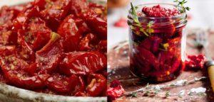 Рецепт приготовления вяленых помидоров от Юлии Высоцкой на зиму
