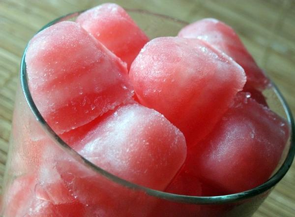замороженный сок арбуза