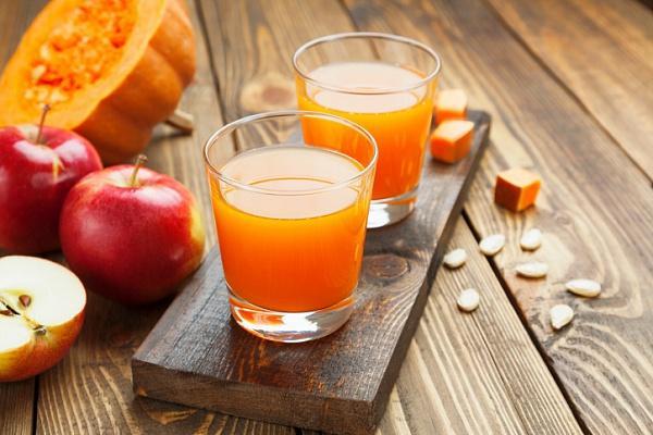 сок из яблок и тыквы