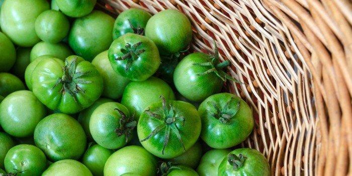 зеленные помидоры
