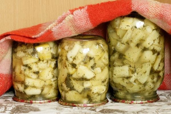кабачки с сушенным укропом