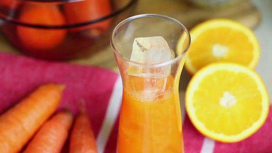 сок из морковки