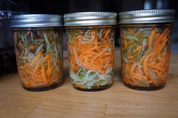 морковь по-корейски с кабачками на зиму