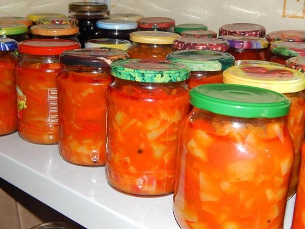тещин язык из кабачков и томата