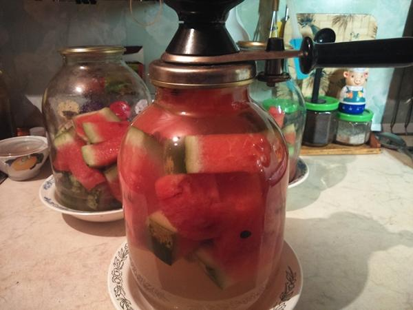 консервация арбуза