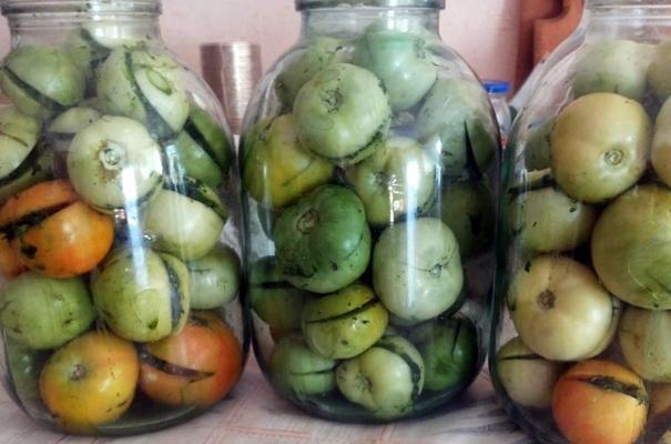 зеленые помидоры по армянски