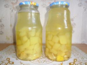 Рецепты приготовления компота из кабачков со вкусом ананаса и с апельсином на зиму