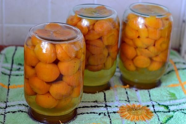 компот из абрикосов концентрированный