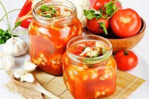 Рецепты маринованной цветной капусты в томате на зиму и хранение заготовок