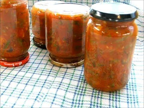 спаржа в томатном соусе