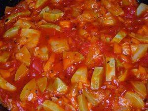 Обалденные рецепты кабачков в томатном соусе на зиму пальчики оближешь со стерилизацией и без