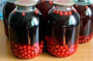 12 рецептов компота из вишни с косточками и без на зиму на 3-литровую банку, со стерилизацией и без