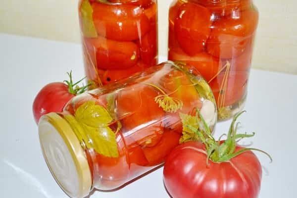 маринованные томаты в банках