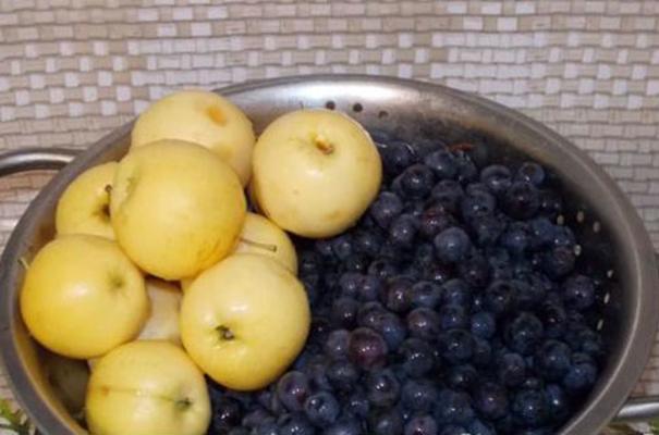 ранетки и виноград