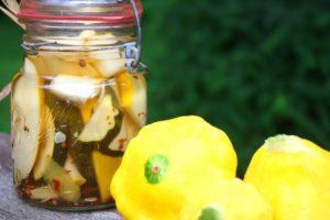 Рецепты заготовок из патиссонов и кабачков на зиму, как мариновать и сроки хранения