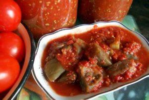 Лучшие рецепты приготовления консервированных баклажанов в томате на зиму