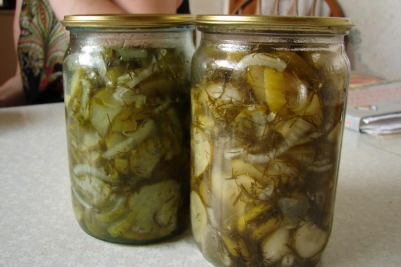 огурцы нежинские рецепт на зиму