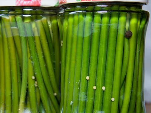 маринованные стрелки чеснока