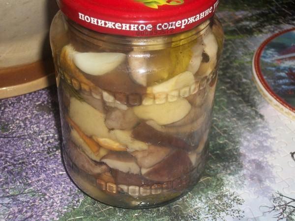маринованые грибы