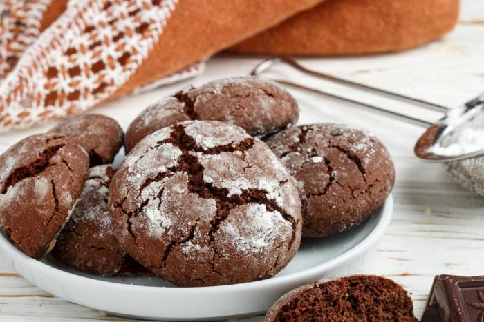 Простой рецепт шоколадного печенья