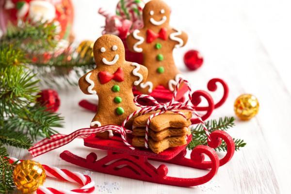 Имбирное угощение на Рождество