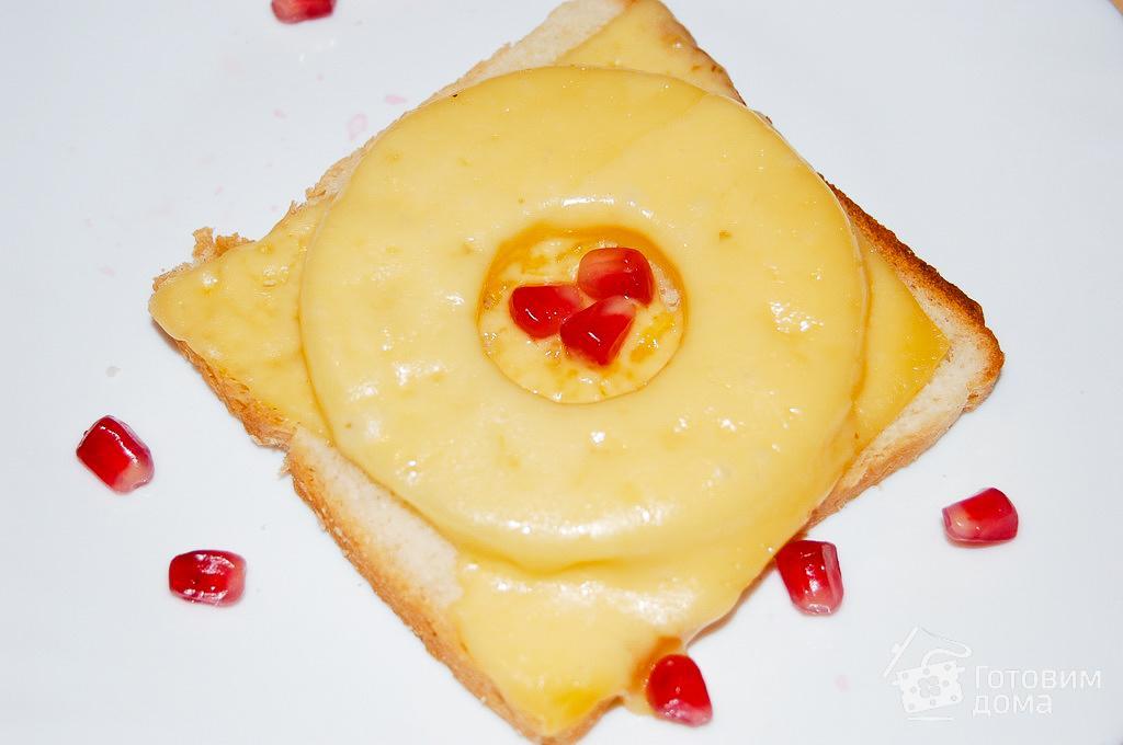 С ананасом и сыром