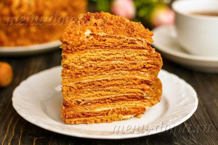 Торт «Рыжик»: классический рецепт