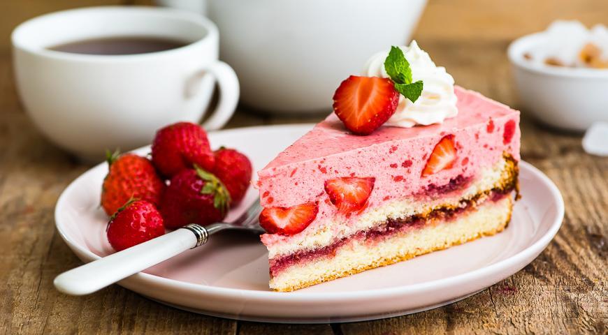 Торт «Йогуртовый»