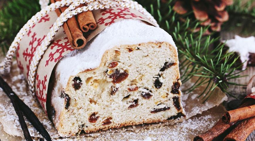Немецкий рождественский кекс «Штолен»