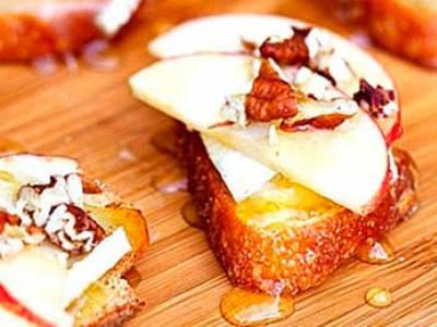 яблоками и медом