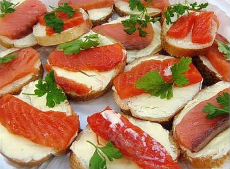бутерброды С баклажаном