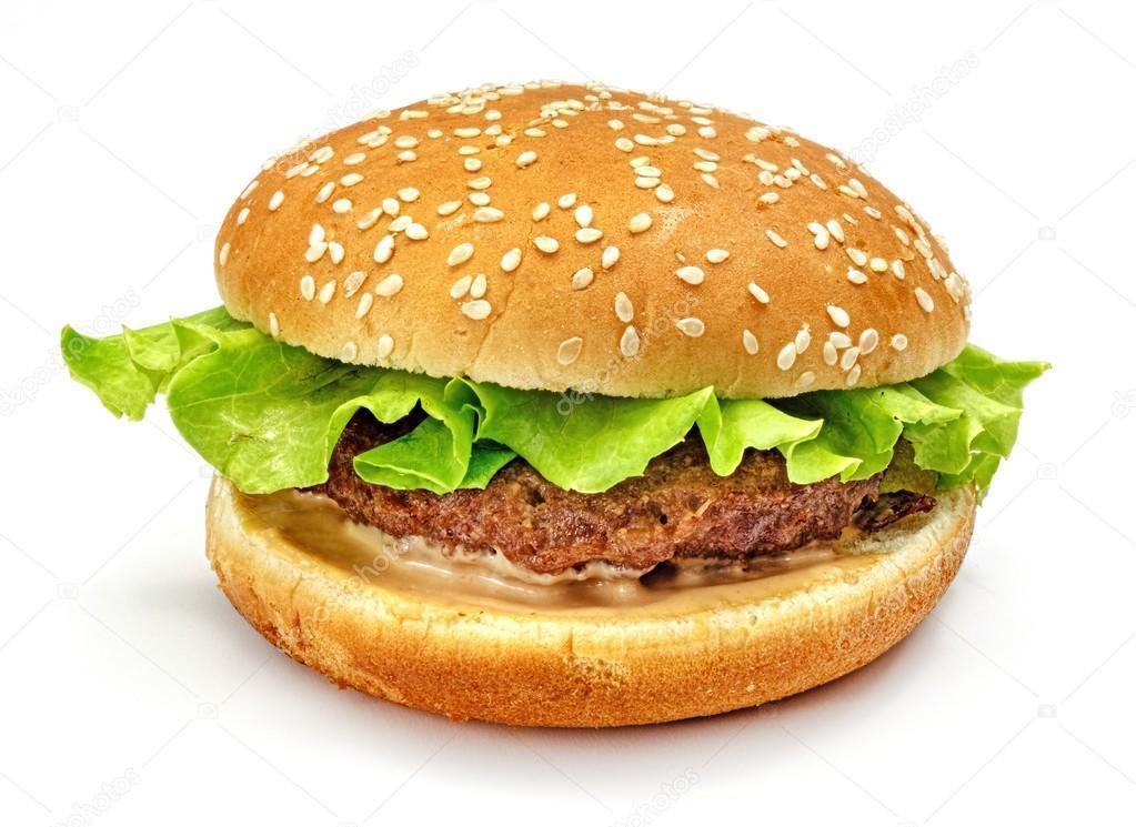 Гамбургеры с мясом