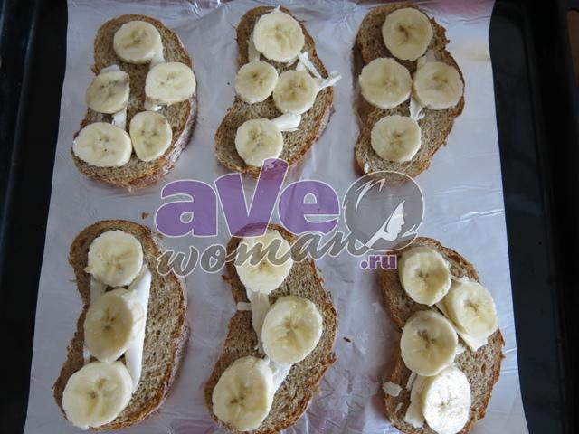 Банановая горячая закуска «Экзотика»