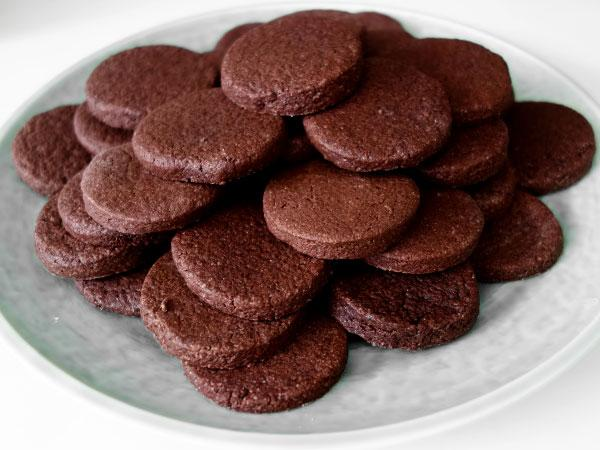 Мягкое шоколадное печенье к чаю