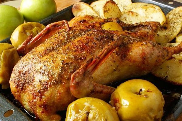 Классический рецепт утки целиком в маринаде