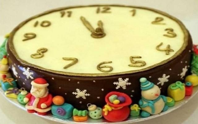 Тортик «Часы» на праздник