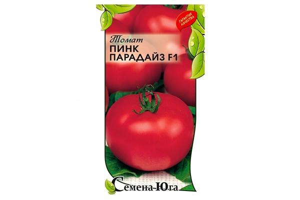 упаковка семян пинк парадайз f1