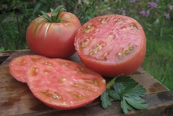 томат микадо розовый внутри