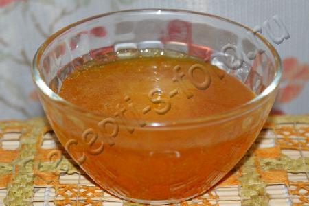 Апельсиновая глазурь