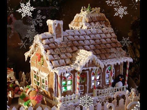 Новогодний имбирный домик