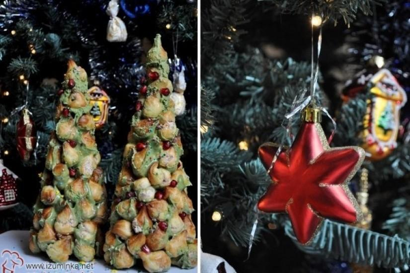Крокембуш «Новогодняя елочка»