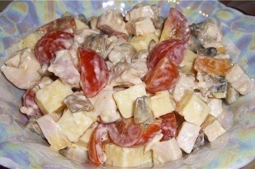 «Аппетит» с сыром