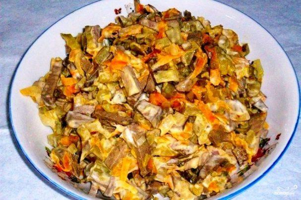 Обжорка салат