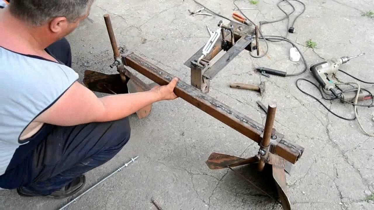 изготовление окучников